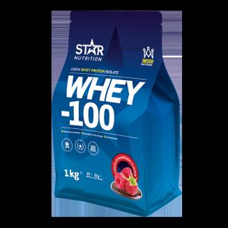 Whey 100 är ett mycket bra vassleproteinpulver