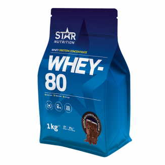 Star Nutrition Whey 80, ett klassiskt vassleprotein