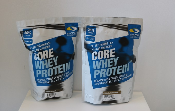 Core Whey Protein Recension och test