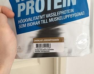 Core Whey är ett mycket gott proteinpulver
