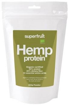 Ett bra fullvärdigt hampaprotein från Superfruit