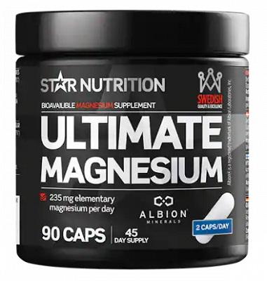 Det bästa magnesiumtillskottet från Star Nutrition