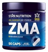 Plats 4 i vårt bäst i test kommer Star Nutrition ZMA