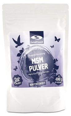Ett mycket populärt MSM pulver som fått bäst i test i flera recensioner