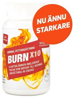 Burn X10 det bästa bantningspiller enligt mig!