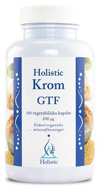 Kromtabletter från Holistic