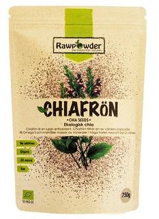 Chiafrön från rawpowder kan du köpa på Gymgrossisten