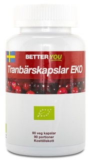 Better you ekologiska tranbärskapslar