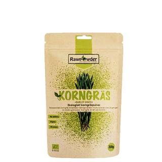 Rawpowder Korngräs är ett bra köp