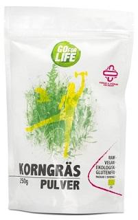 Korngräspulver från Go For Life