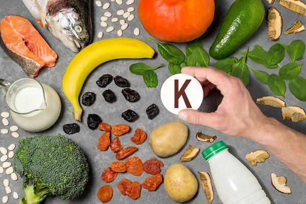 Kalium finns i de flesta livsmedel