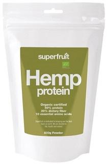 Proteinpulver av hampa från Superfruit