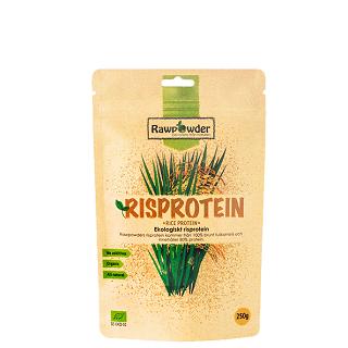 Proteinpulver av ris från Rawpowder