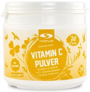 Vitamin C Pulver från Healthwell