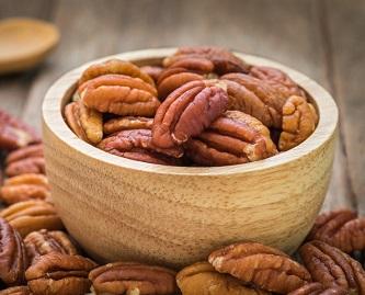 pekannötter är nyttigt och gott