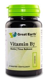 Vitamin B7 från Great Earth